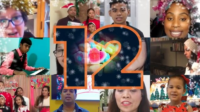 12 Days of Christmas user generated content tribute to seafarers