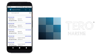 Tero Marine Enhances Its e-Procurement Solution With A New Purchasing App