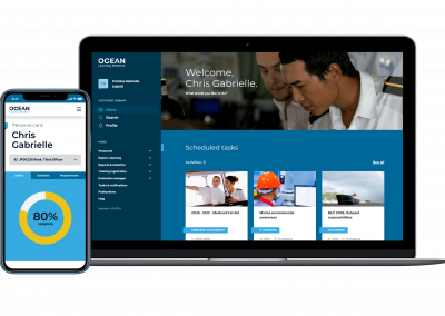 Ocean Learning Platform: the ultimate seafarer training experience onboard, onshore and on the move