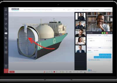 Teaching in a virtual classroom